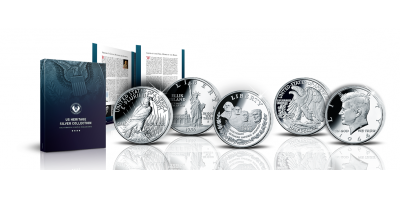 The US Heritage Silver Coin Collection - a century of stunning coin designs