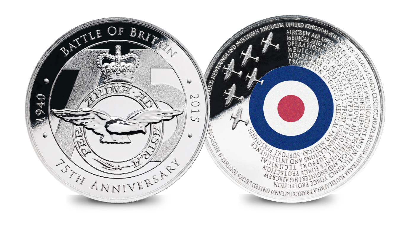 Battle of Britain 75th Anniversary Coin Pictures