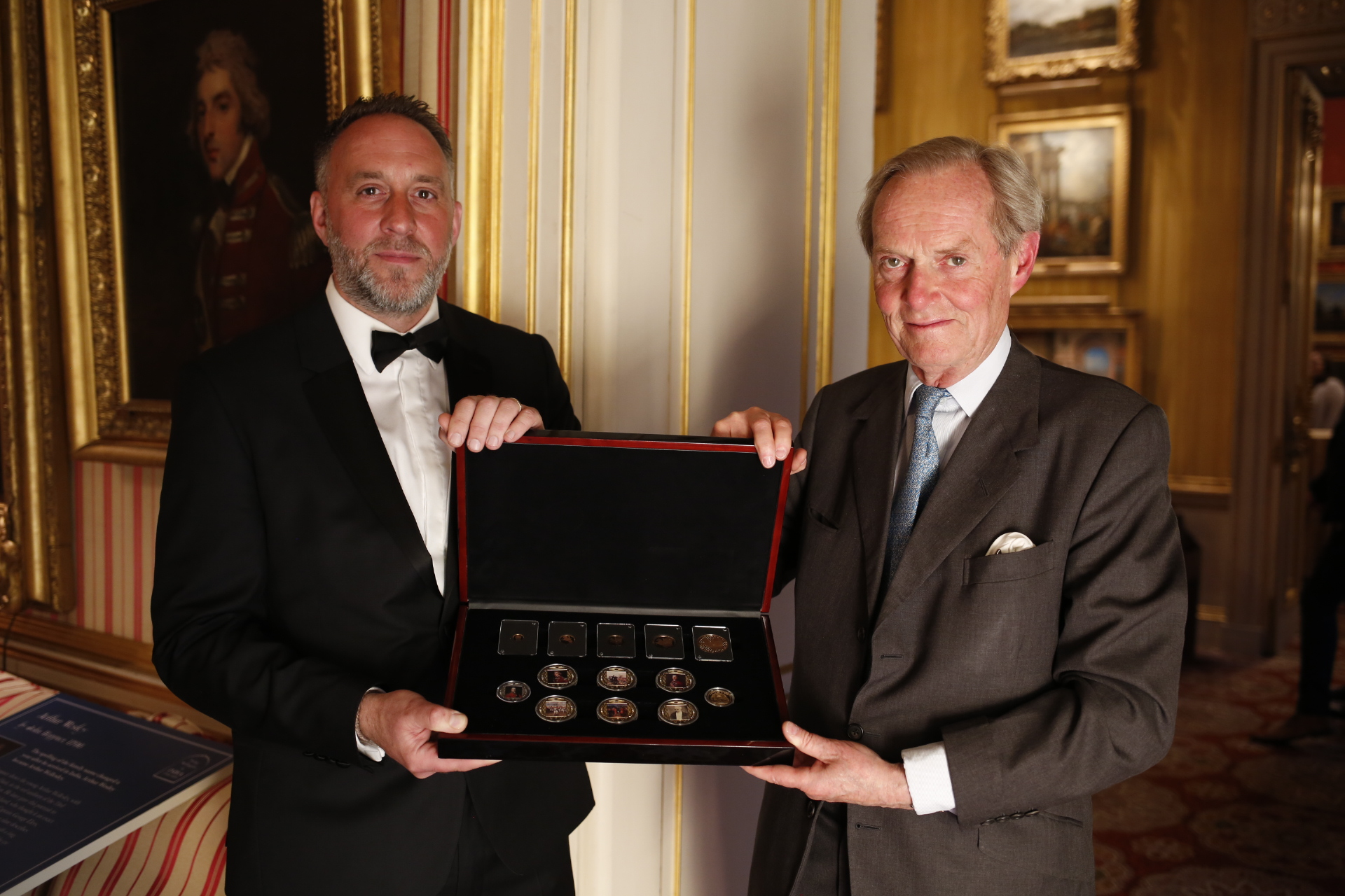THE LONDON MINT OFFICE CELEBRATES THE 250TH ANNIVERSARY OF  THE BIRTH OF THE FIR…