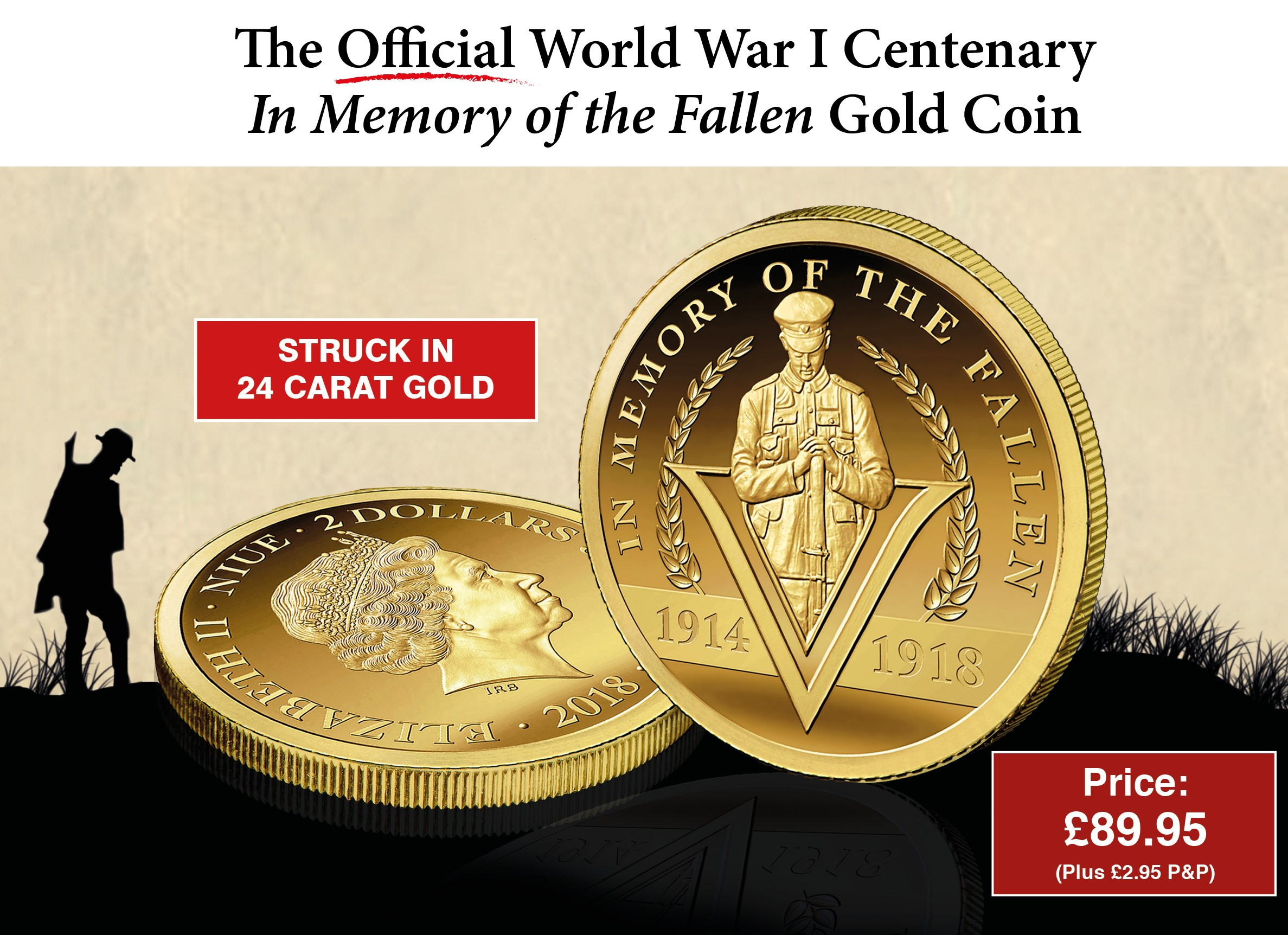 The World War I Centenary Gold Coin
