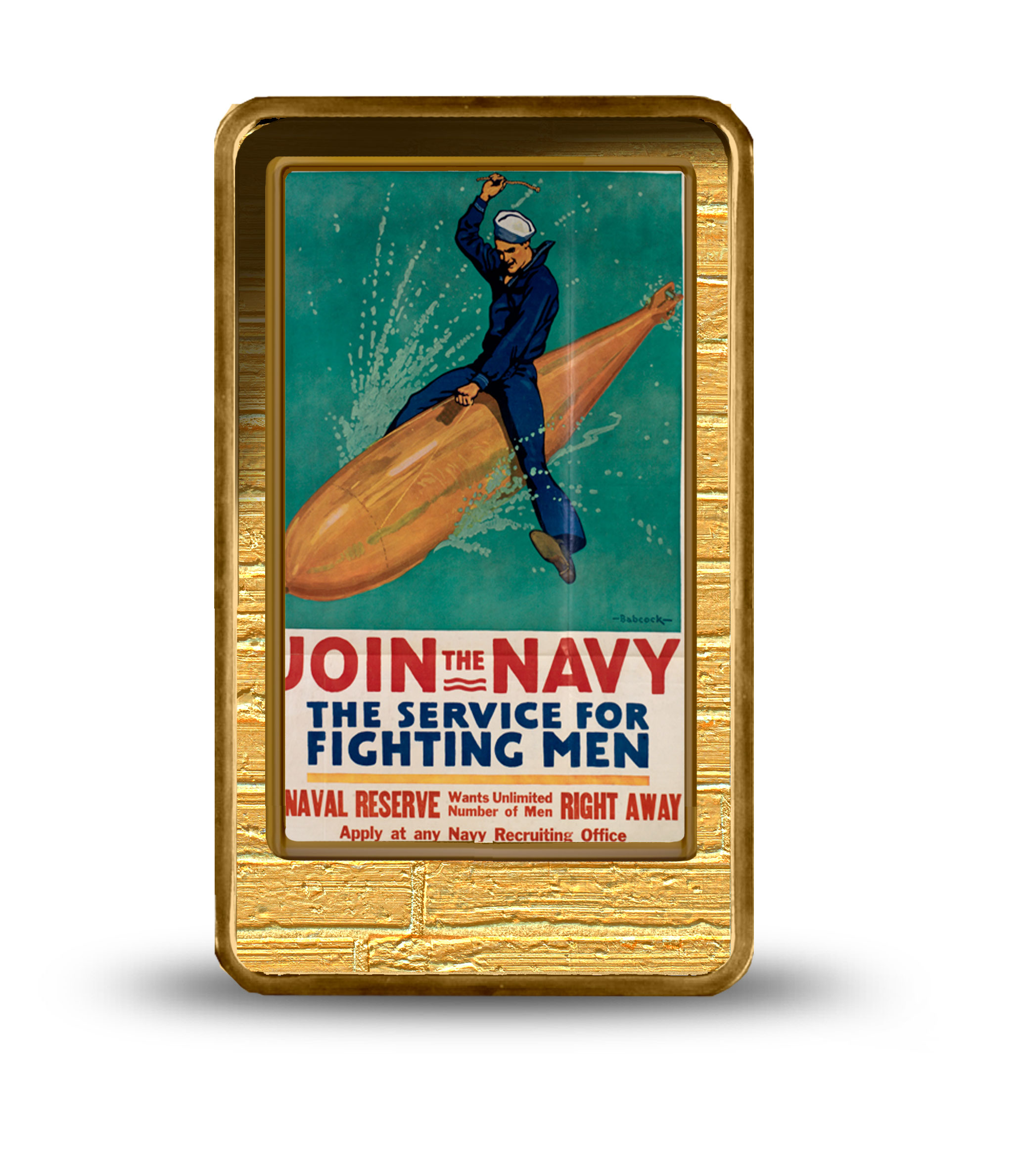 <p>Join the Navy</p>