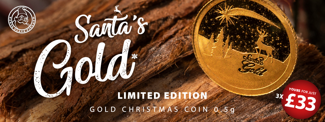 Christmas Coin Lapland Gold