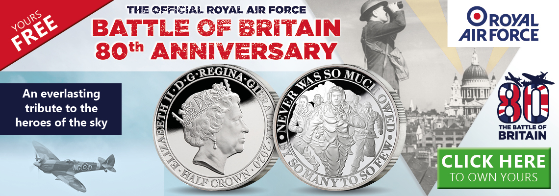 The Official Royal Air Force The Few Commemorative Coin