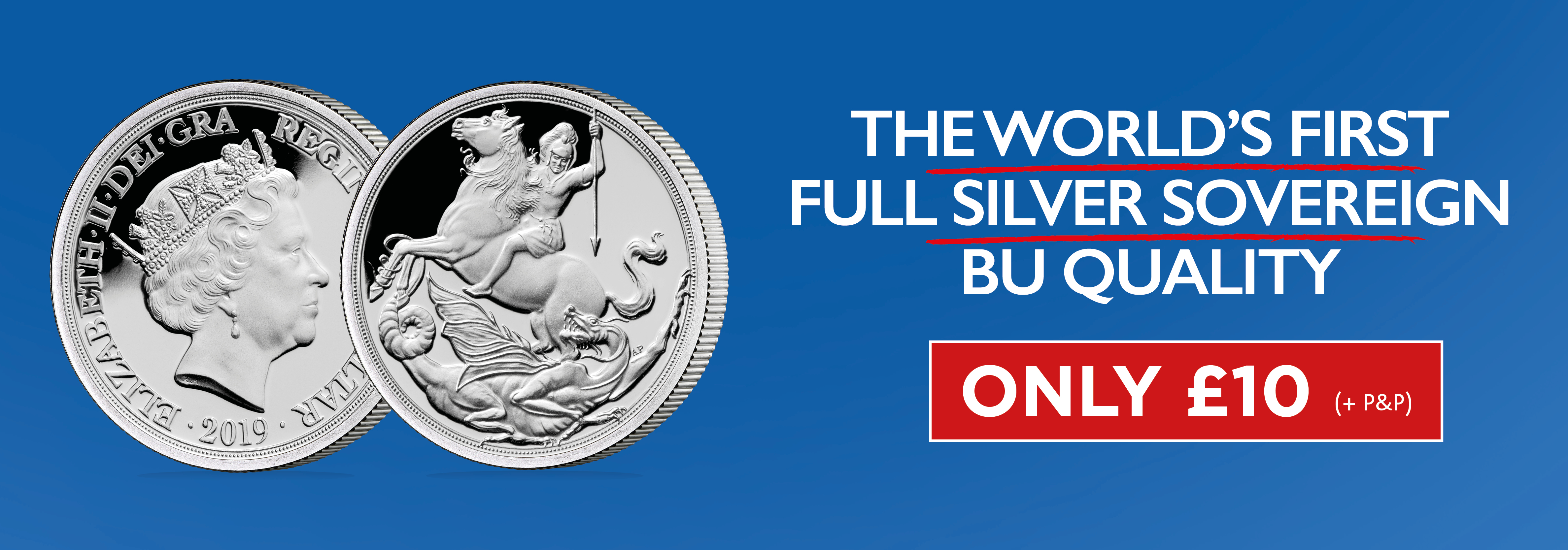 World's First Silver Sovereign!