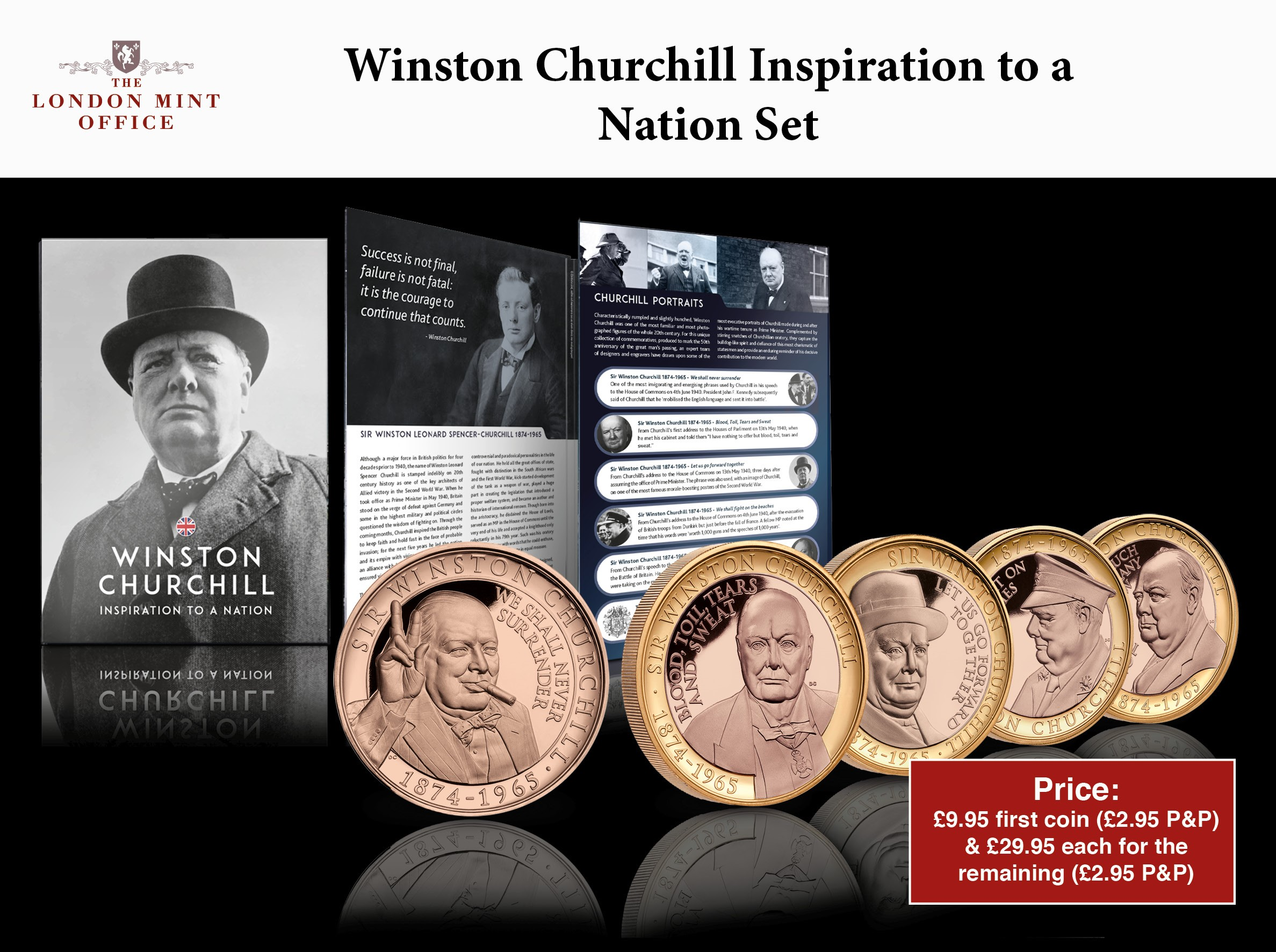 The Winston Churchill Life and Times Coin Subscription