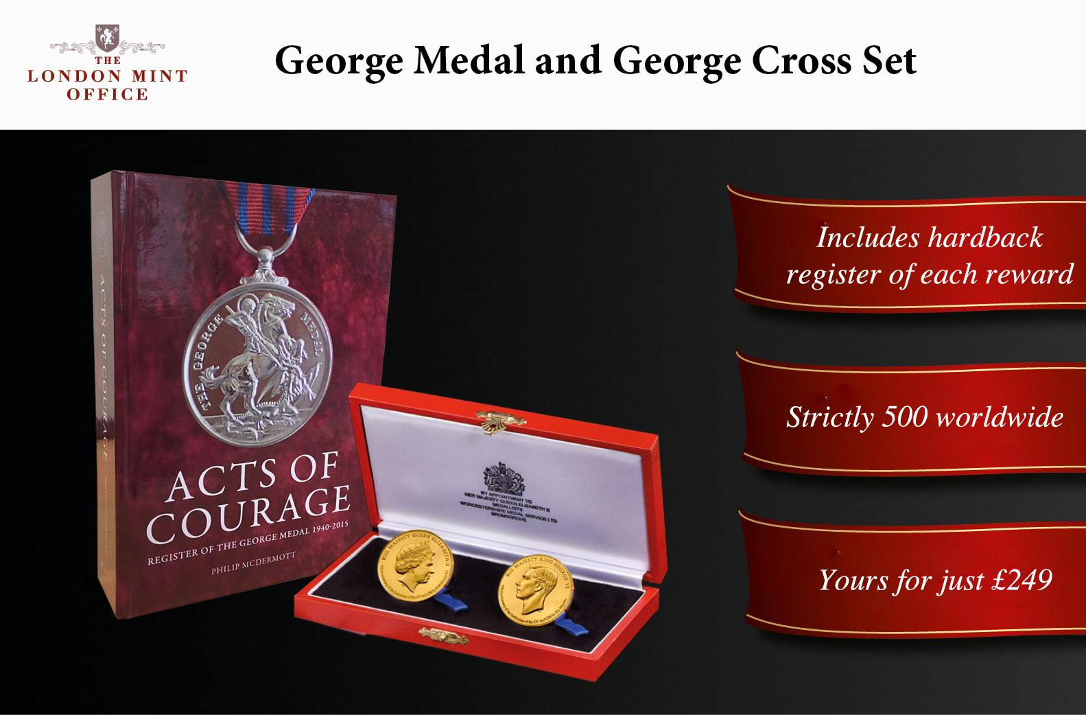 George Cross and George Medal Set