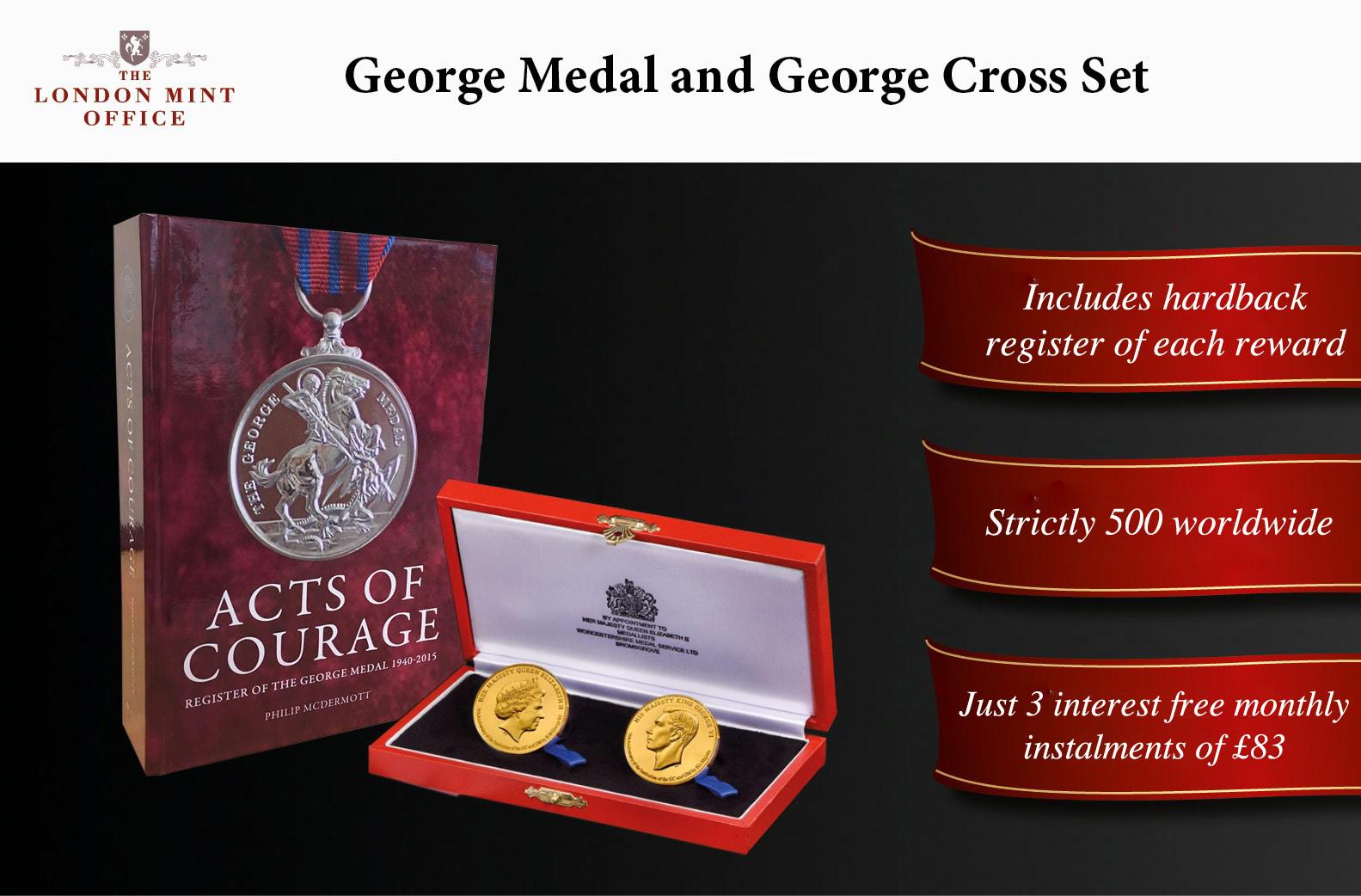 George Cross and George Medal Set