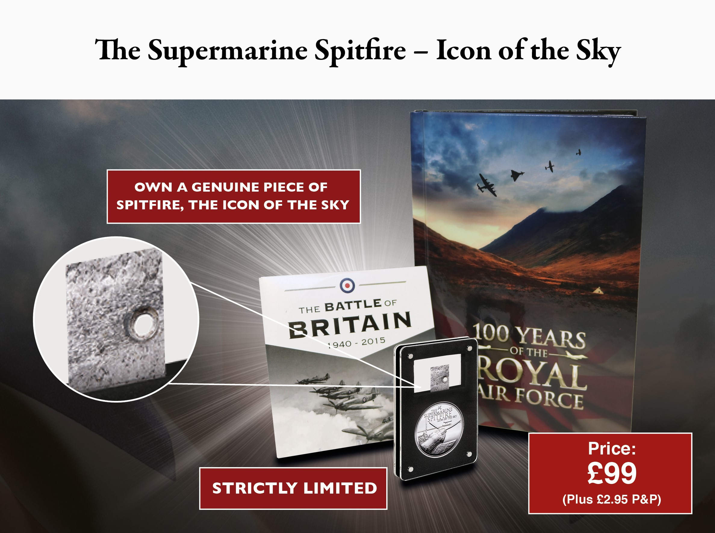 The Supermarine Spitfire 'Icon of the Sky' Commemorative Set'