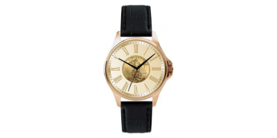 The 1/10 oz 1986 Gold Eagle Watch (Leather Strap)
