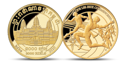 The Countdown to Tokyo (Series 2) 1/10 oz 24-carat Gold Commemorative Coin