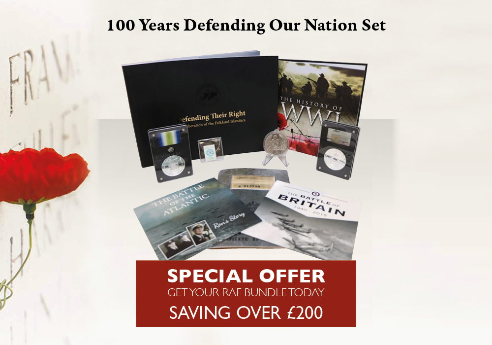 100 Years of Defending our Nation Set   The London Mint Office