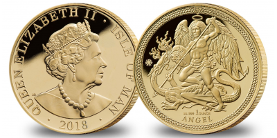 2018 Angel 1oz Gold Coin