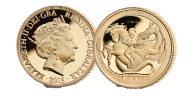 2018 Royal Baby Date Stamped Double Sovereign