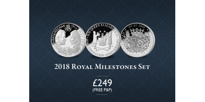 2018 Royal Milestones Set | The London Mint Office Installments