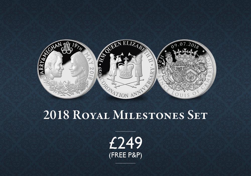 2018 Royal Milestones Set | The London Mint Office