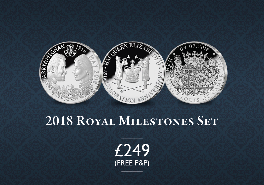 2018 Royal Milestones Set | The London Mint Office