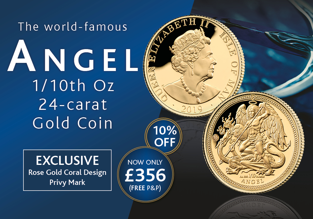 2019 Angel 1/10oz Gold Coin