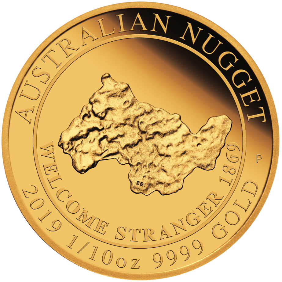 1.10oz gold australian nugget