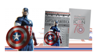 Official Captain America Silver Coin  Captain America's 75th Anniversary Shield Coin