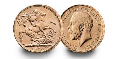 The Operation FISH 75th Anniversary George V Gold Sovereign