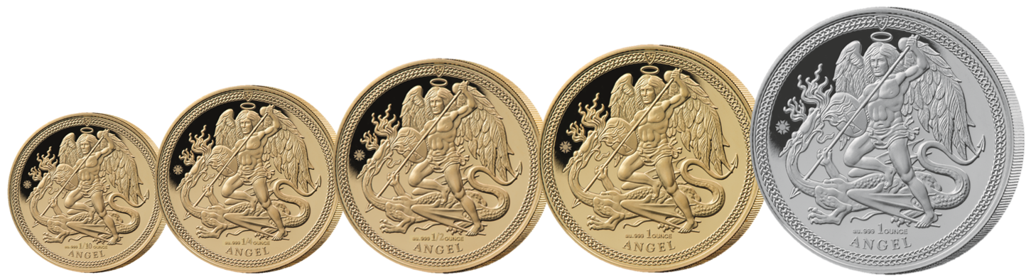 Angel 5 Coin Set