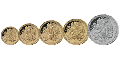 Angel 2018 5 Coin Set