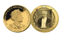 Coin shows The only known photograph of the Duke of Wellington is believed to have been taken on his 75th birthday in 1844.