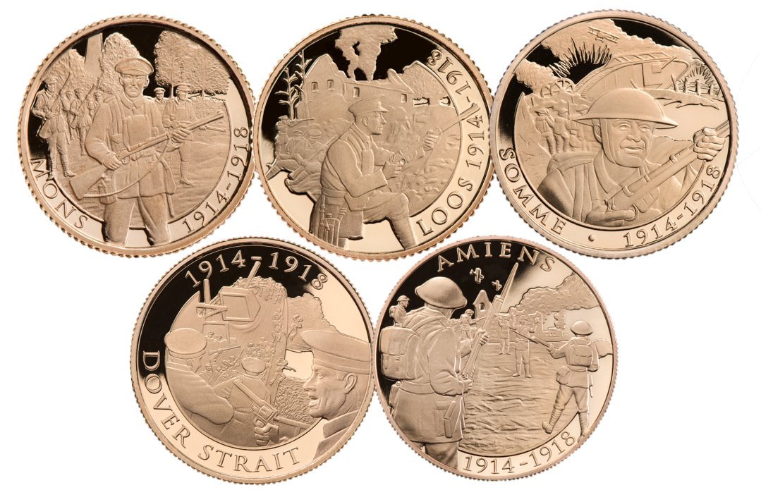 5 Coin Full Sovereign Set Picture 1