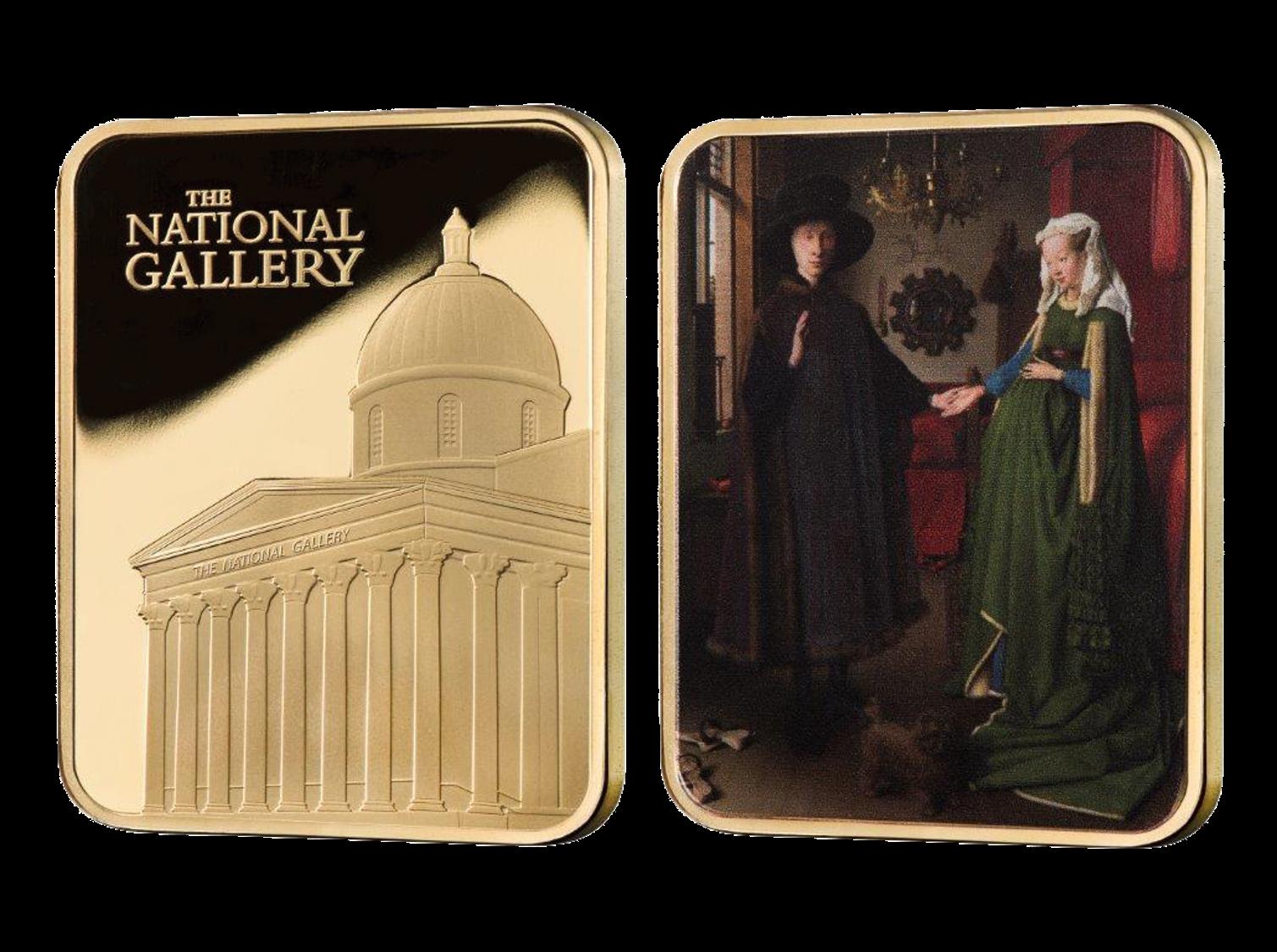 Official National Gallery Ingot The Arnolfini Portrait