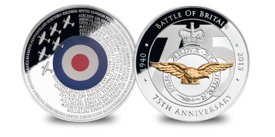 Battle of Britain 75th Anniversary Medal