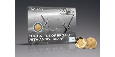 Battle of Britain 75th Anniversary Churchill Gold Coin PNC