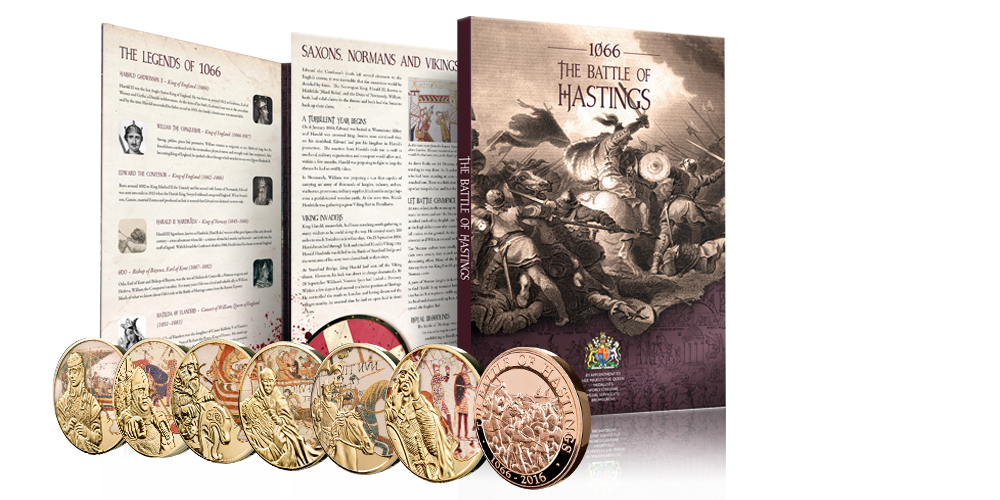 The Battle of Hastings 950th Anniversary Medals