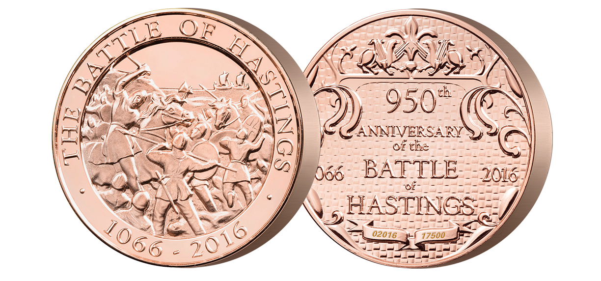 The Battle of Hastings 950th Anniversary Medal