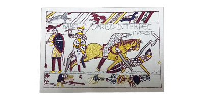 Bayeux Tapestry Embroidered Replica