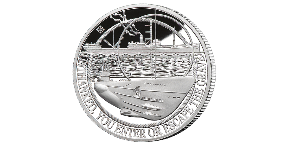 The 'Attack from Above' Battle of the Atlantic Coin  Under Attack