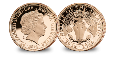 The Battle of The Atlantic Quarter Sovereign