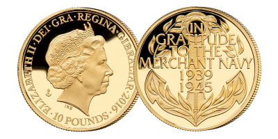 Battle of the Atlantic Gold Commemorative Coin