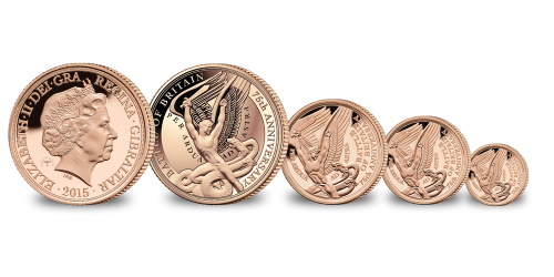 Battle of Britain 75th Anniversary Gold Sovereign