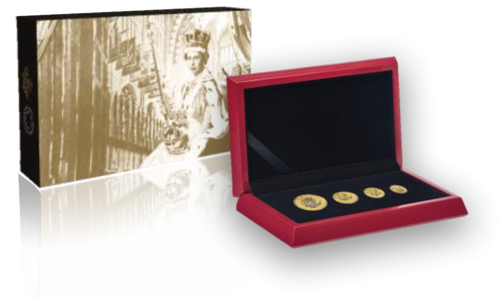 Canada Maple Leaf Gold Set and Box