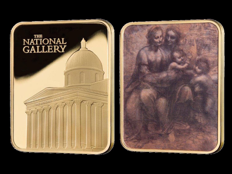 The National Gallery Ingots - Cartoon by Leonardo da Vinci Ingot