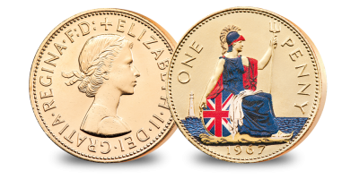 The Changing Face of British Coinage - Pre Decimal Set