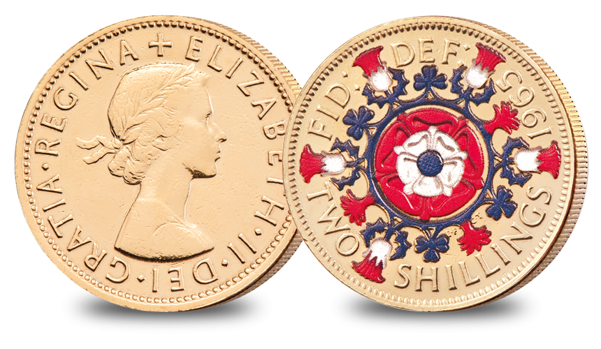 Florin The Changing Face of British Coinage - Pre Decimal Set
