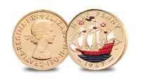 Halfpenny The Changing Face of British Coinage - Pre Decimal Set