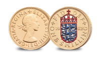 One Shilling England The Changing Face of British Coinage - Pre Decimal Set
