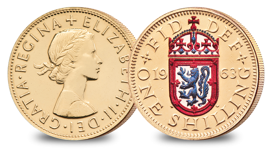 One Shilling Scotland The Changing Face of British Coinage - Pre Decimal Set