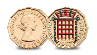 Three Pence The Changing Face of British Coinage - Pre Decimal Set