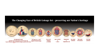 Britains Pre-Decimal Coins The Changing Face of British Coinage - Pre Decimal Set