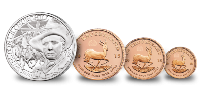 2015 Krugerrand Fractional Set & Churchill Commemorative
