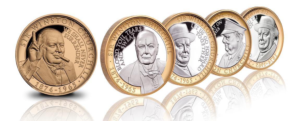 The Complete Churchill Commemorative Coin Collection