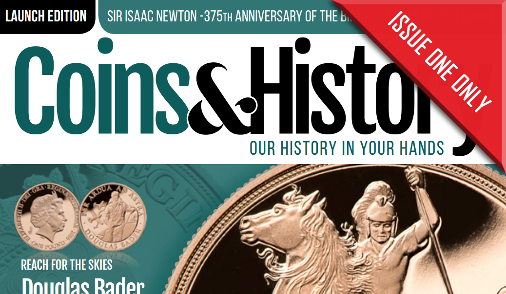Coins & History Magazine First Ever Issue